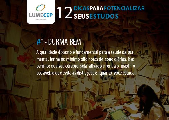 12 DICAS - 1