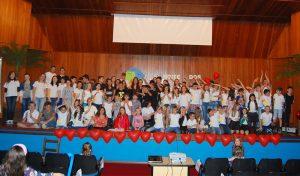 Alunos do Lume Kids (Foto: Michele Tonezer)