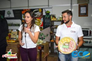 Alana é proprietária da empresa Piatto Bello e lançou a novidade na Turismate, em novembro