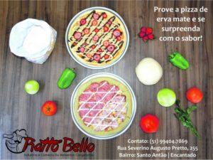 Pizza de Erva-Mate, mais um lançamento da marca