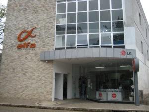 Em 2008, LumeCep estava alocada junto ao prédio da Alfa Network