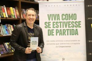 """Henzel lançou o livro """"Viva como se estivesse de partida"""" em junho de 2017 (Foto: Divulgação)"""