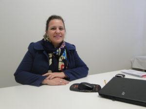 Belquise é enfermeira responsável pelo Posto de Vacinas de Encantado (Foto: Vanessa Paliosa)